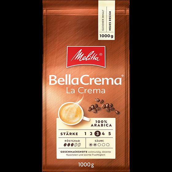 Melitta® BellaCrema® LaCrema, Kaffeebohnen, 1000g