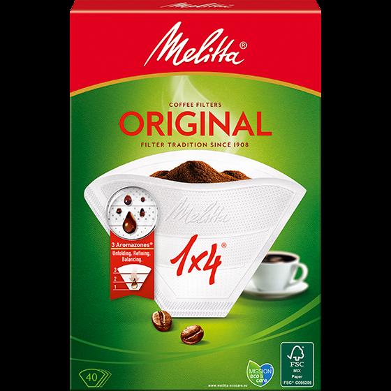 Filtros de café 1X4/40