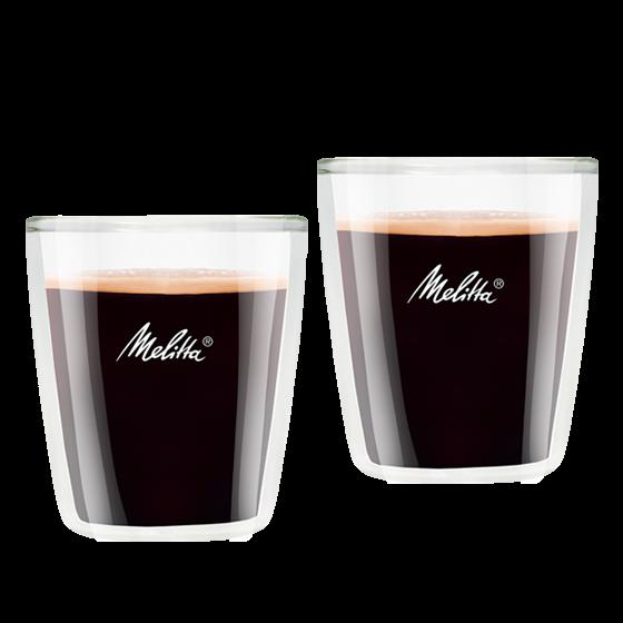 Doppelwandige Espresso-Gläser