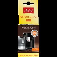 Pack de 4 Pastillas Perfect Clean para cafeteras automáticas