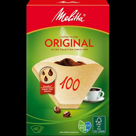 Melitta® Filtertüten® Original, 100, braun